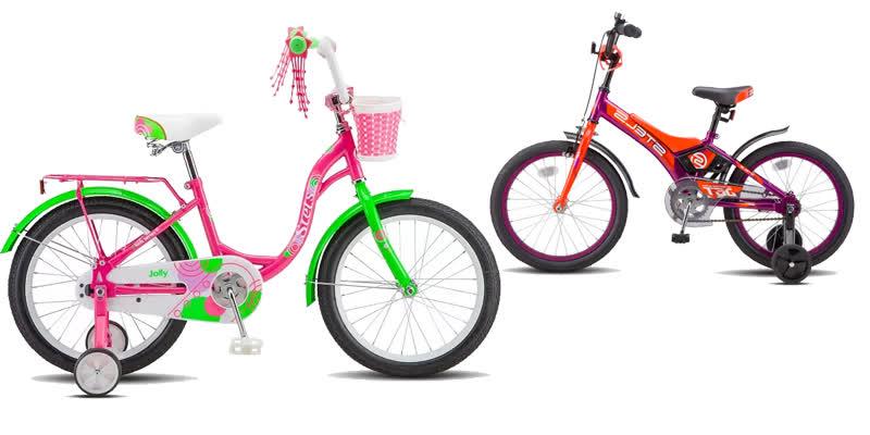 велосипед детский стелс 18
