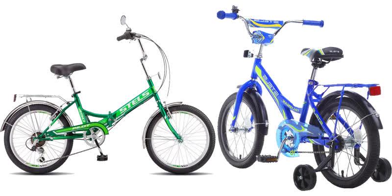 Характеристики велосипедов Stels